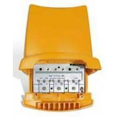 Amplificatore da palo 3i/1u UHF[dc]-UHF-BIII/DAB 12V