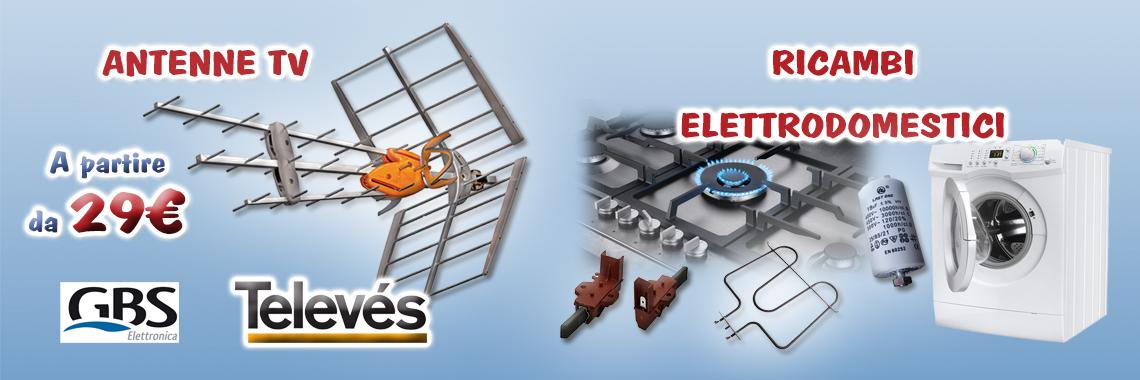 Elettrodomestici e Antenne