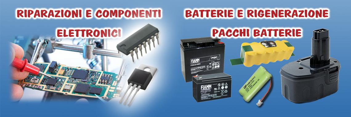 Batterie e Riparazioni
